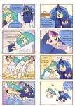 Humanized pony comic 3 ,4