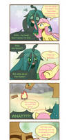 Chrysalis's fluttered adventure p6 by HowXu