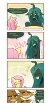 Chrysalis's fluttered adventure p7 by HowXu