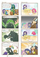 My little Kindergarten 4koma 2 by HowXu