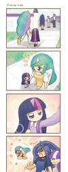 My little Kindergarten 4koma 4 strip by HowXu