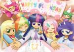 Commission happy birthday