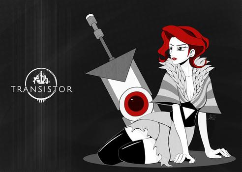 Weekly Art#43 Transistor Red