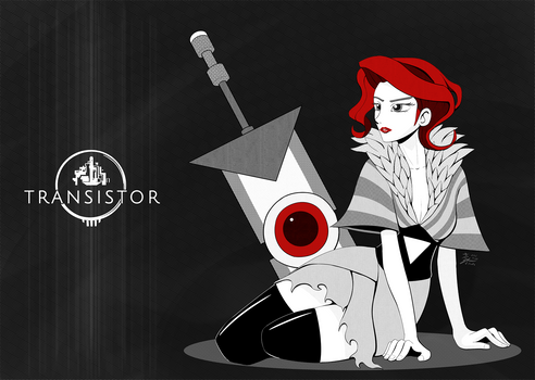 Weekly Art#43 Transistor Red