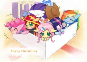 Weekly art#45 Merry Chrismas by HowXu