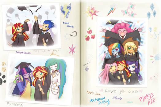 Commission Graduation album by HowXu