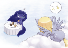 Commission Muffin Hunting by HowXu