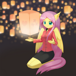 Sky Lantern( Anthro Ver) by HowXu