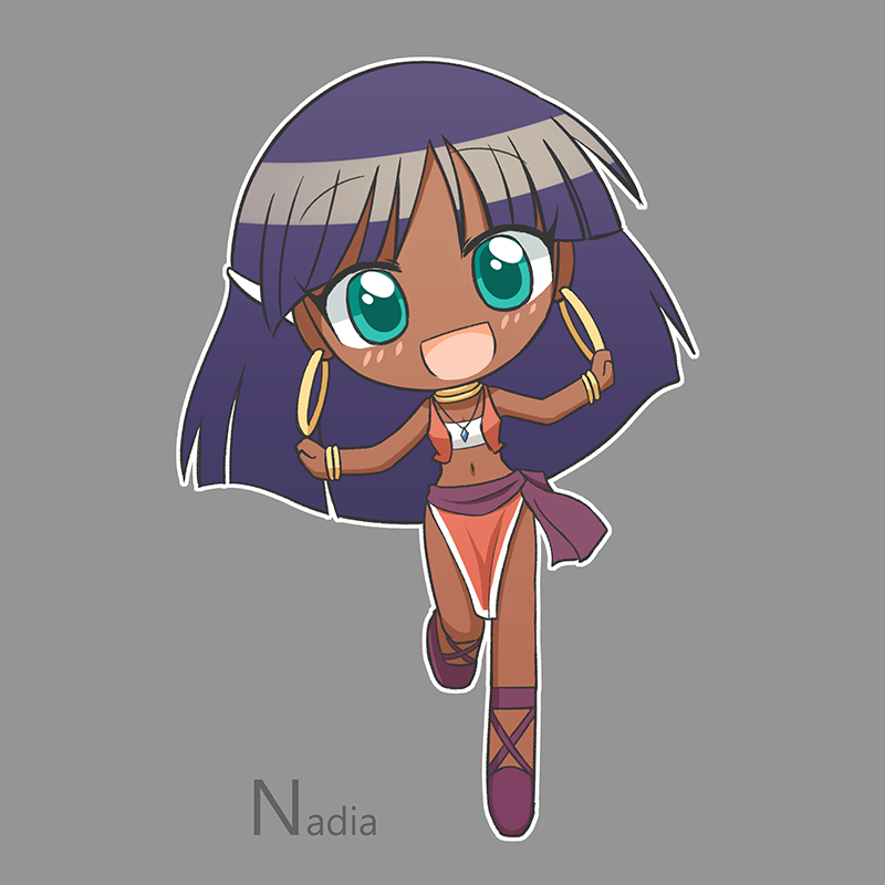 Commission Nadia by HowXu
