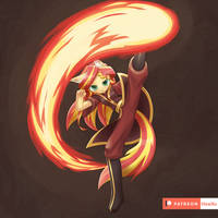 SS firebending by HowXu