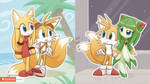 Tails Cosmo Zoey by HowXu