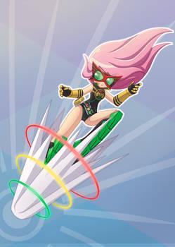 Commission FS kamen rider kick