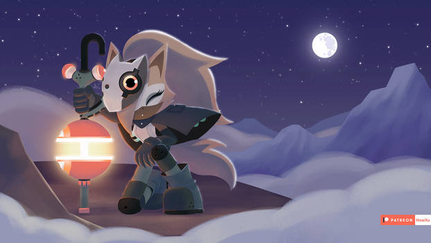 Whisper the wolf