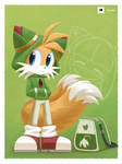 Tails in Cosmo Hoodie