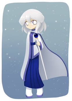 Commission Claire in fancy cloth