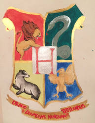 Hogwarts Poster by ArticWolfStorm