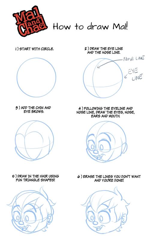 How to Draw Mal by StephenMcCranie