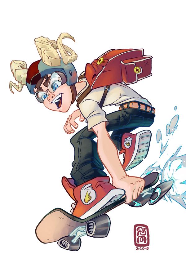 Skater Boy by StephenMcCranie