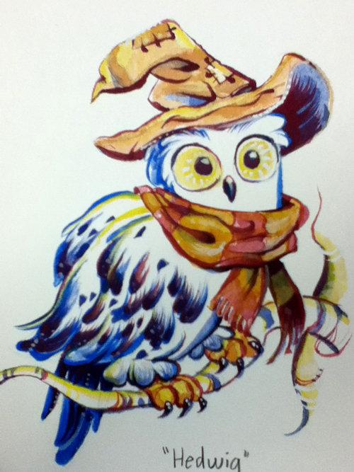 Hedwig by StephenMcCranie