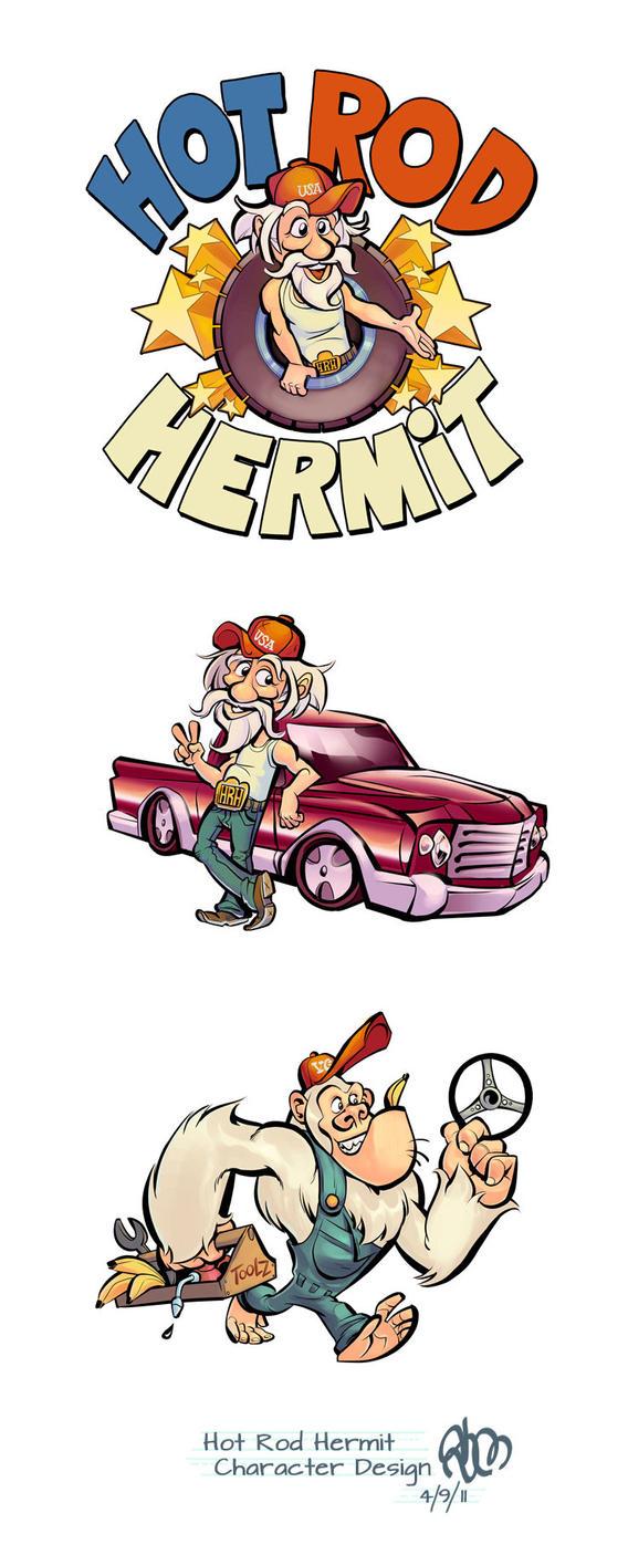 Hot Rod Hermit by StephenMcCranie on DeviantArt