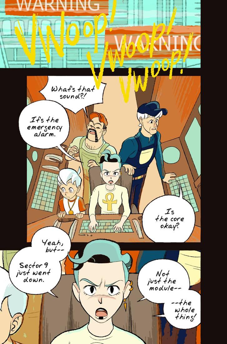 Space Boy Episode 160 by StephenMcCranie