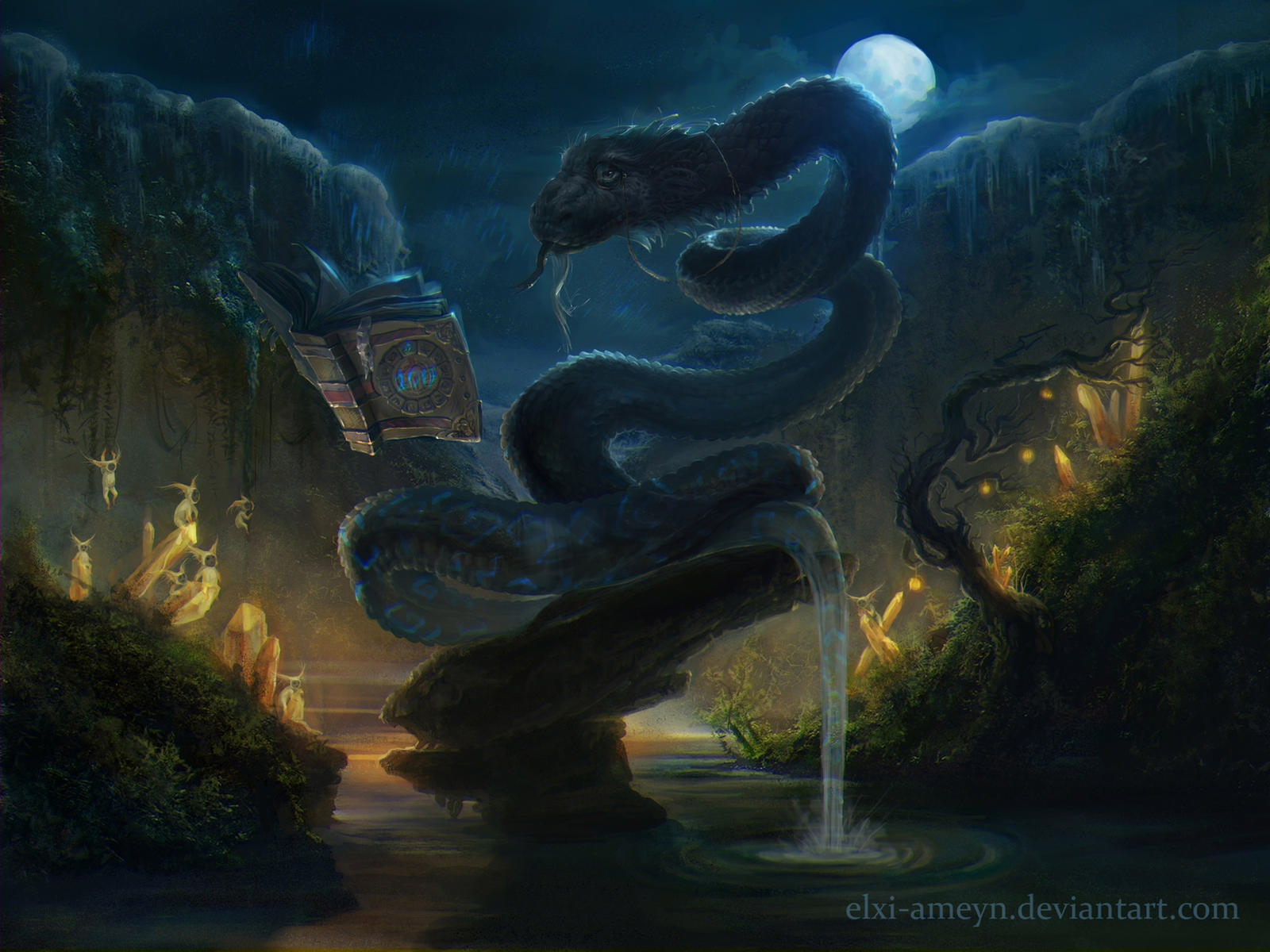 Змей арт