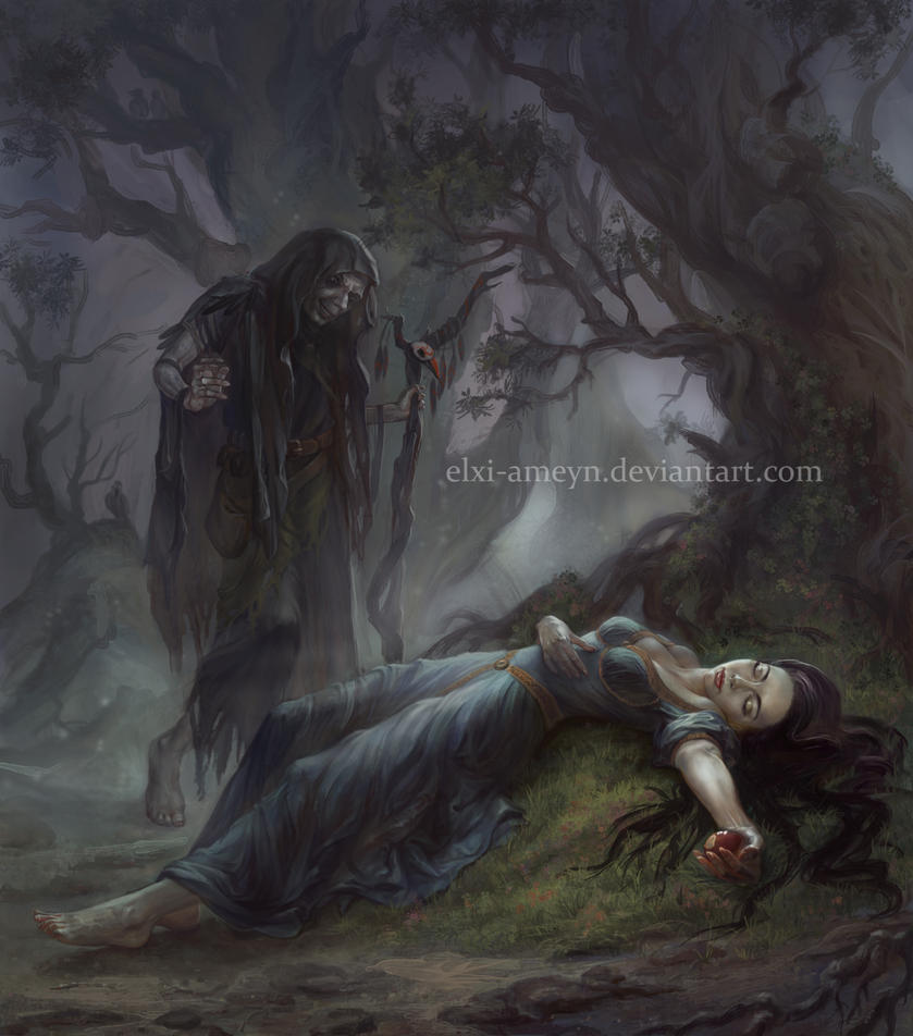 Snow White by ElXi-Ameyn