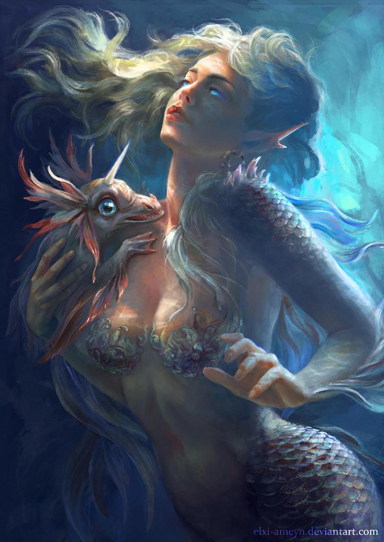Mermaid by ElXi-Ameyn