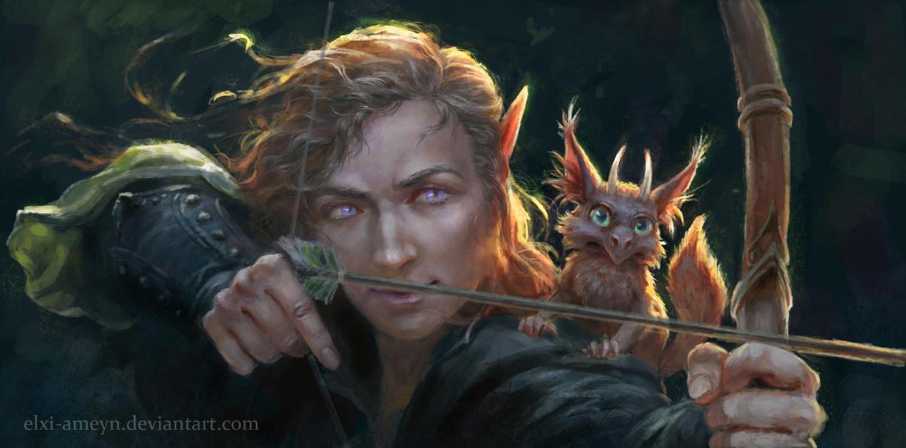 Archer by ElXi-Ameyn