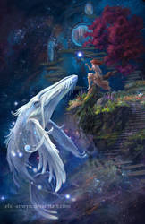 White Postal Whale by ElXi-Ameyn