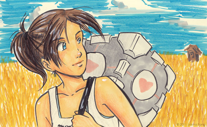 Chell by jfong