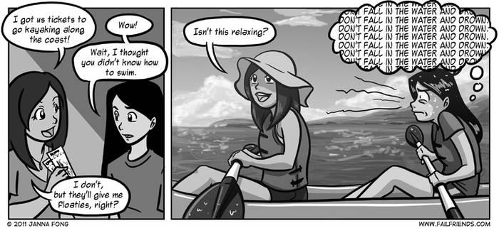 Kayaking by jfong
