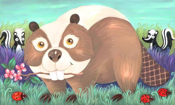 A beaver named Skunk
