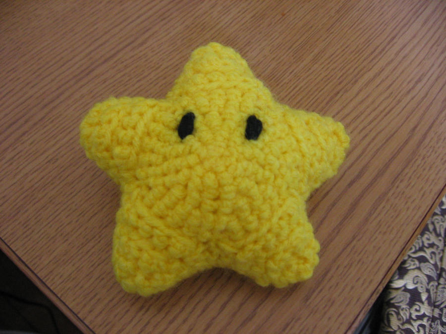 Amigurumi Crochet Wikipedia : Amigurumi - Mario Bros. Star by LokiThundercrow on DeviantArt