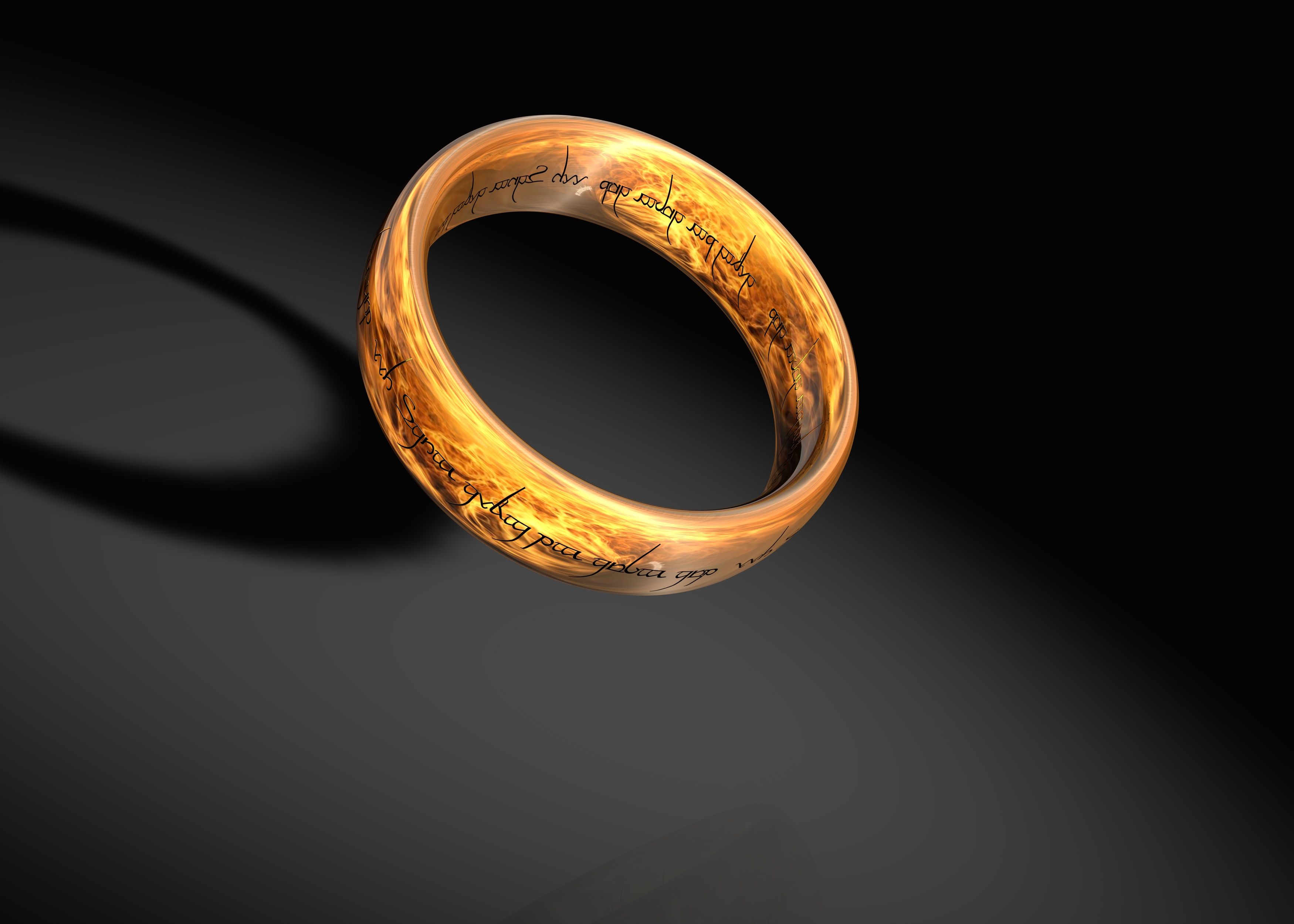lord of the rings ring by cyberper on deviantart