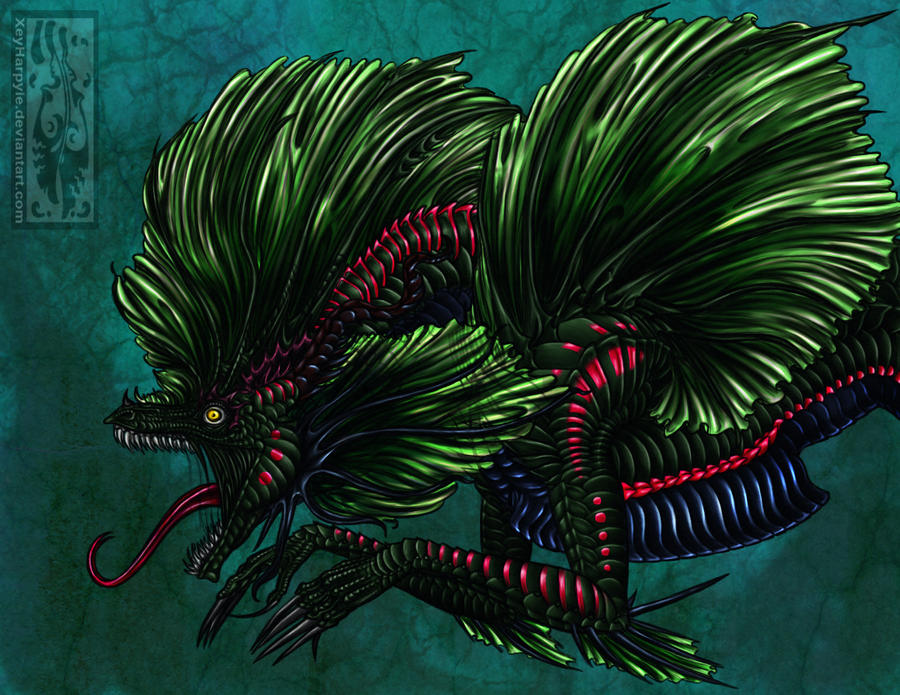 sea monster by Acayth