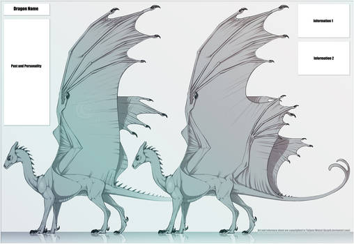 Agdragoon Pern Dragon template commission