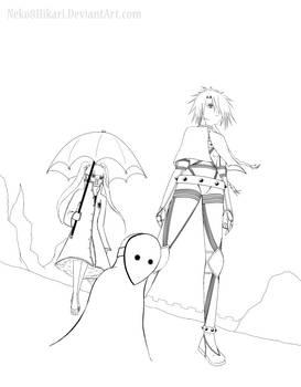 Squad II :Line Art