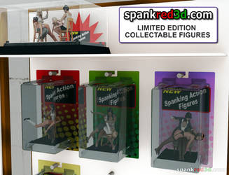 3D spanking figurines by SpankRed
