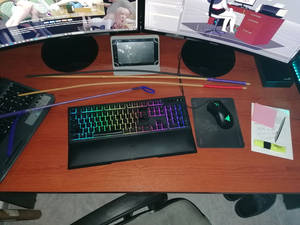 The desk of creation