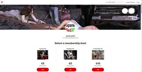 spanking-art-Patreon-screenshot