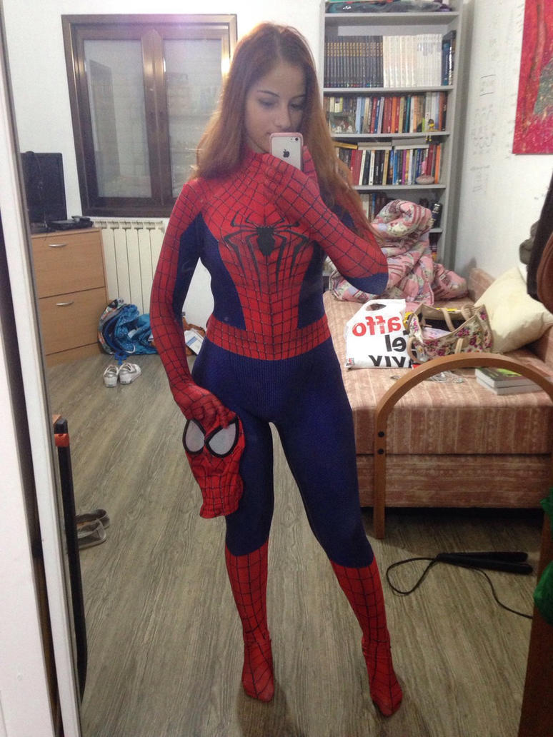 Spiderman cosplay by Dafnash