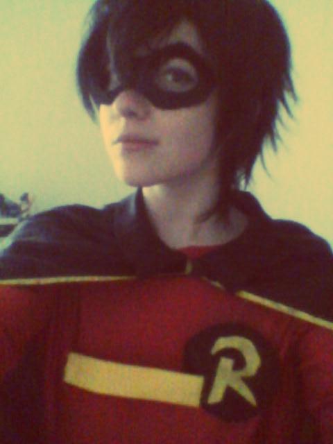 Robin in progress. by Childishx