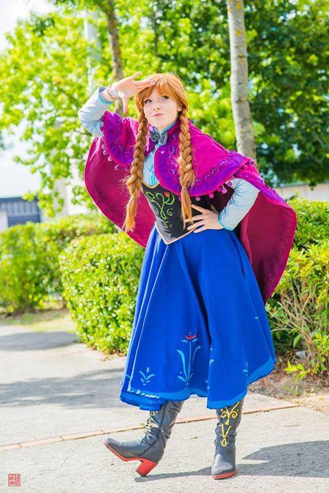 Anna cosplay - Frozen