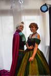Coronation day ! - Elsa and Anna