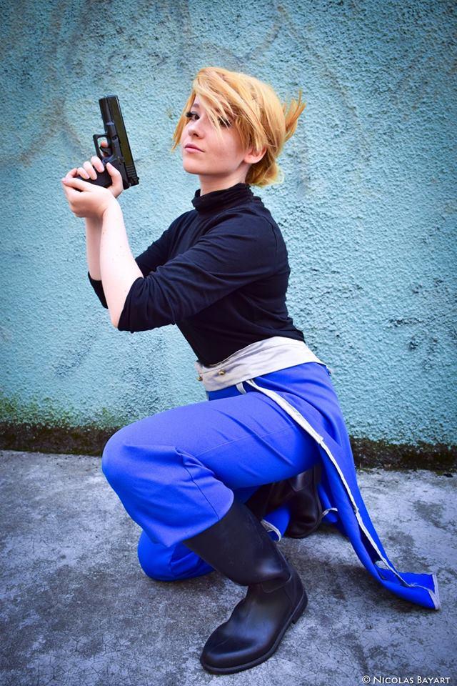 Riza Hawkeye - Fullmetal Alchemist by Childishx