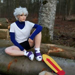 Killua Zoldyck - HxH by Childishx
