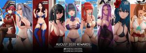August 2020 Rewards
