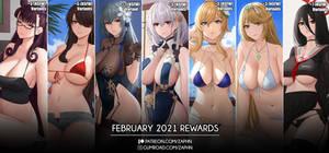 Feberuary 2021 Rewards