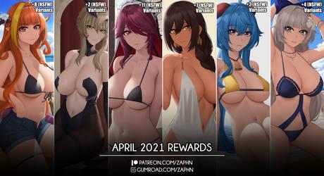 April 2021 Rewards